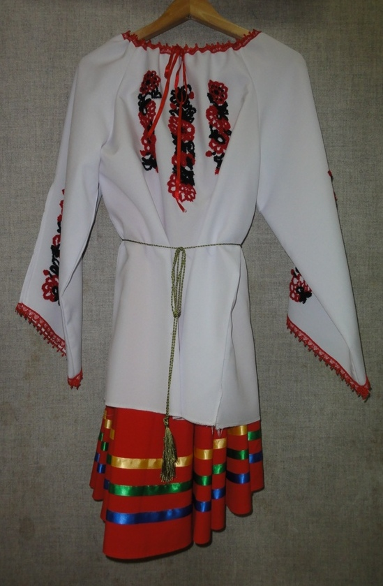 Embroidered Costume